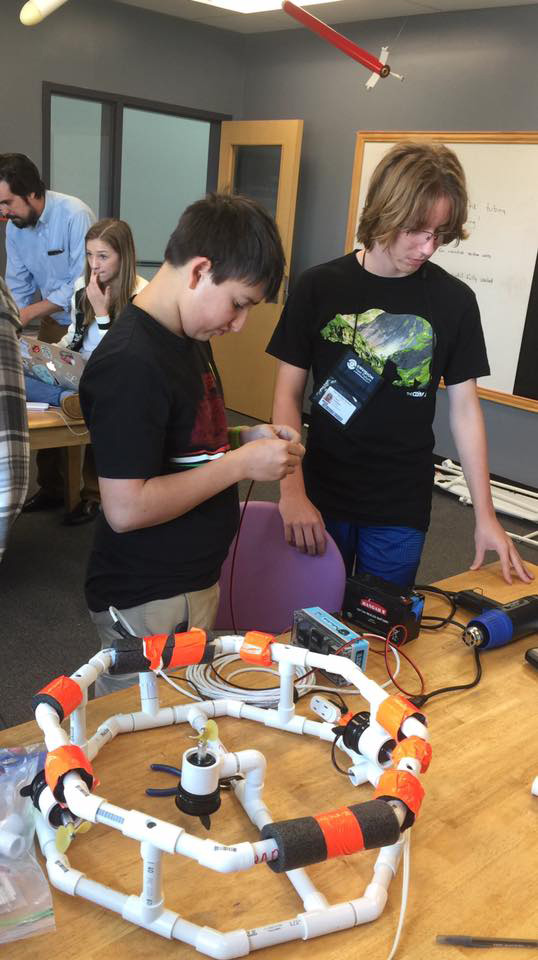 Clariden robotics program
