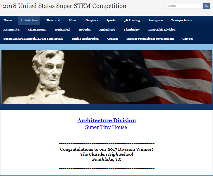 Clariden wins US Super STEM 2017